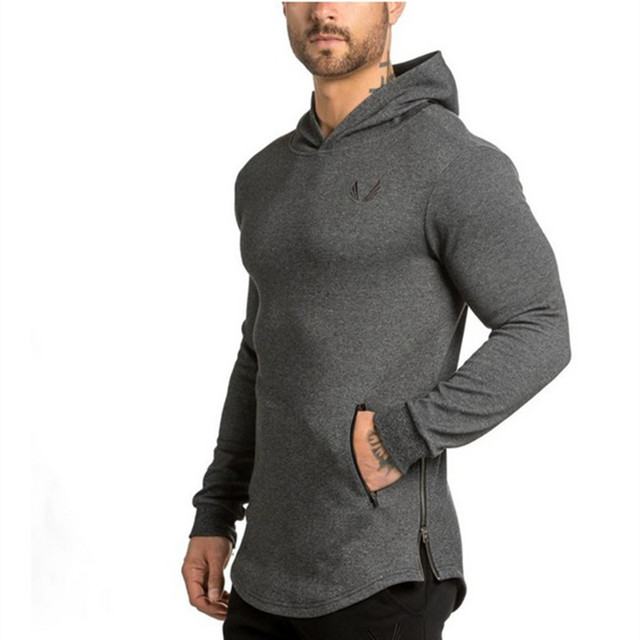 Long-sleeved Hooded Outdoor Men's tight-fitting sports 1