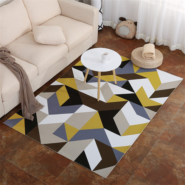 80*160cm Area Carpet Print Modern Carpets Polyester Large Rug For Living  Room Mat Rugs