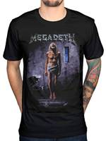 2017 Newest Megadeth Countdown To Extinction T Shirt Thrash Metal Rock Band Design Tops Soft Short