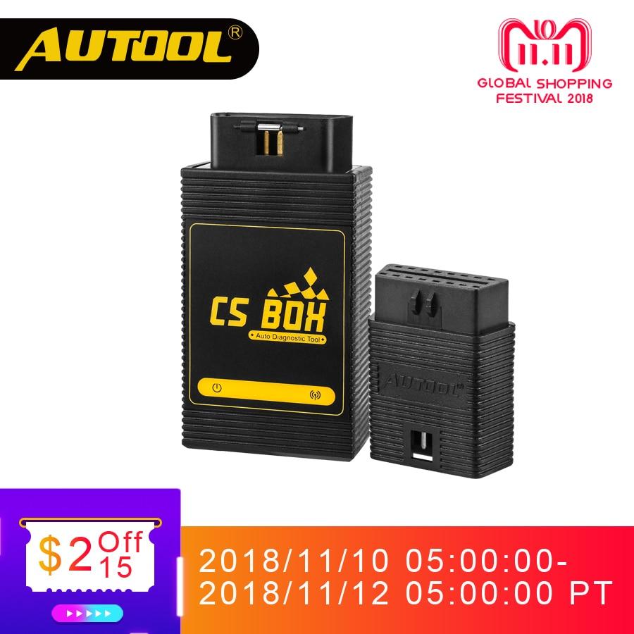 AUTOOL CS BOX Easy Diag Mdiag OBDII diagnóstico sistema múltiple ETC Airbag ABS Key Coding escáner Bluetooth conectar Android Launch
