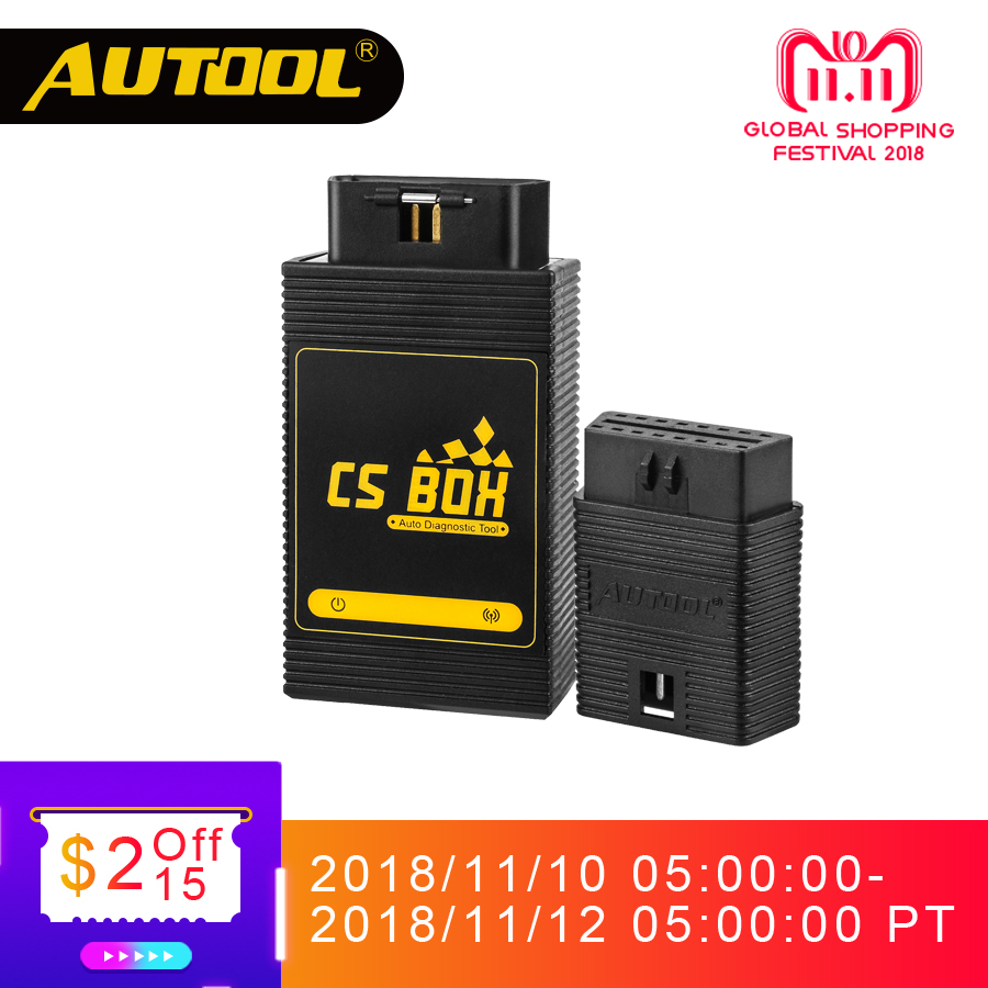 AUTOOL CS BOX Easy Diag Mdiag OBDII Diagnostic Multi System ETC Airbag ABS Key Coding Scanner Bluetooth Connect Android Launch оборудование для диагностики авто и мото by cds update multi di g j2534 multi diag v02 actia j2534 multi diag j2534 multi diag acess
