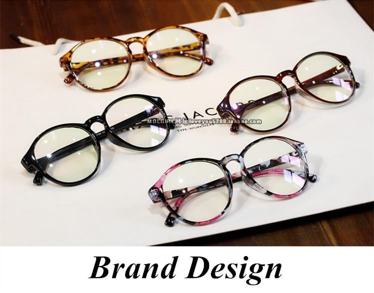 e762b6500cee Brand Round Eyewear Frames eye glasses frames for Women Eyeglasses Women  Ladies Eyeglass Computer Mirror Plain spectacle frame-in Eyewear Frames  from ...