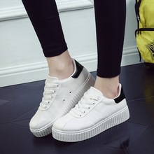 Women Casual Shoes 2016 Summer Canvas shoes Trainers White Shoes brand Breathable Zapatillas Deportivas Mujer