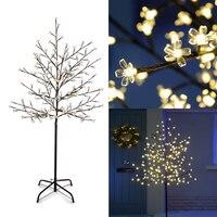 Warm White Light LED Christmas Cherry Blossom Trees 150cm Artificial LED Tree Xmas Indoor Outdoor Lighting Wedding Garden