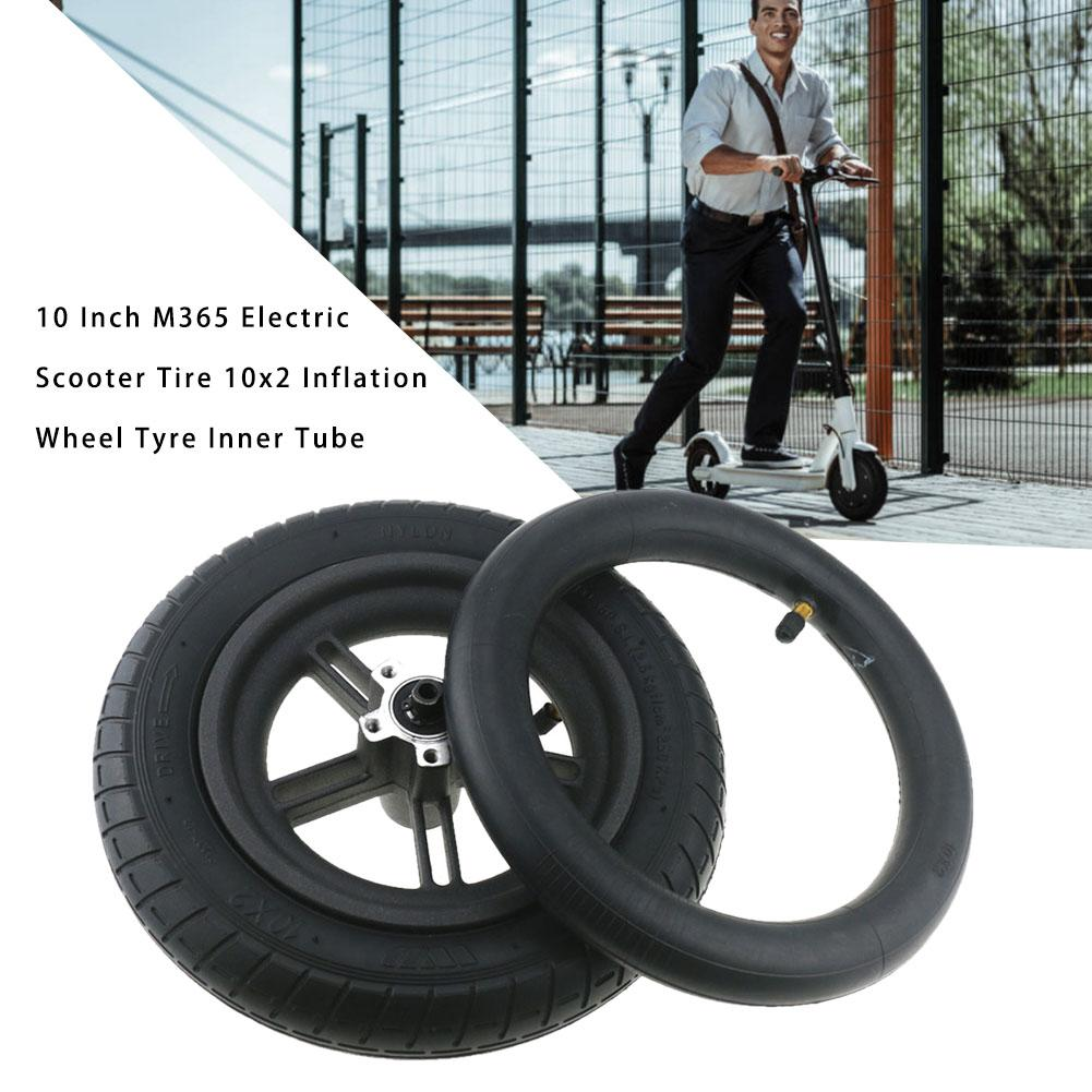 10 Inch Millet M365 Electric Scooter Tire 10x2 Inner Tube Pneumatic Tire Suitable For Wanda 10*2 Tires And Other 10 Inch Tires