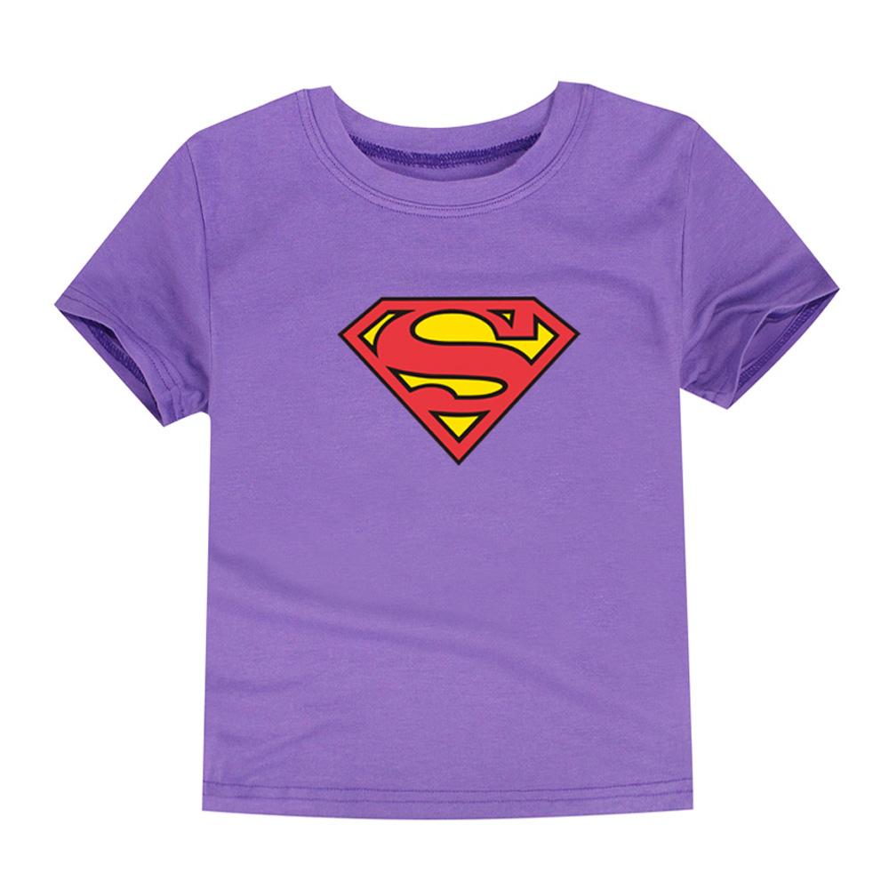 HTB1z6KQQVXXXXXVXXXXq6xXFXXX1 - TINOLULING 2018 Kids Superman T-Shirt Boys Girls Batman T Shirt Children Tops Baby Tees For 2-14 Years