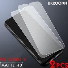 Матовое закаленное стекло 2 шт./лот для Xiaomi Mi 8 MI8 lite Mi9 mix3, Защита экрана для Xiaomi Mi 9 8 lite mix 3, защитная пленка