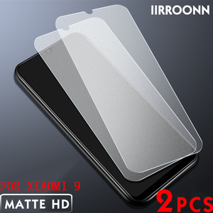 Image 1 - 2Pcs/lot Matte Tempered Glass For Xiaomi Mi 8 MI8 lite Mi9 mix3 Screen Protector for Xiaomi Mi 9 8lite mix 3 Protective Film
