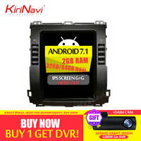 KiriNavi 2GB RAM Vertical Screen Tesla Style Android 6.0 10.4 Inch Car Radio For Toyota Prado Car DVD Gps Navigation