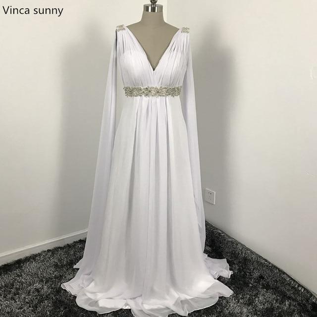 Greek Style A Line Chiffon Wedding Dress 2017 Simple Sash: Aliexpress.com : Buy Greek Style Wedding Dresses With