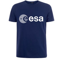 Esa Europa Europese Ruimtevaartorganisatie Symbo Nerd Geek Mens White T Shirt gratis Verzending Heren Nieuwe Mode Mode T Shirts
