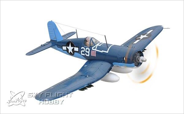 Skyflight LX EPS 1.2M F4U Corsair Warbird Propeller RC RTF Plane Model W/ Motor Servos ESC Battery revell f4u 5 corsair