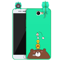 For Samsung Galaxy Note2 Case Fashion Cartoon Soft Back Cover Shell For Note 2 N7100 N719