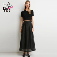 Black maxi skirt online shopping-the world largest black maxi ...