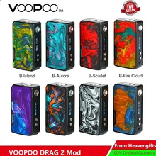177W VOOPOO DRAG 2 Box Mod Power By 18650 Battery Electronic