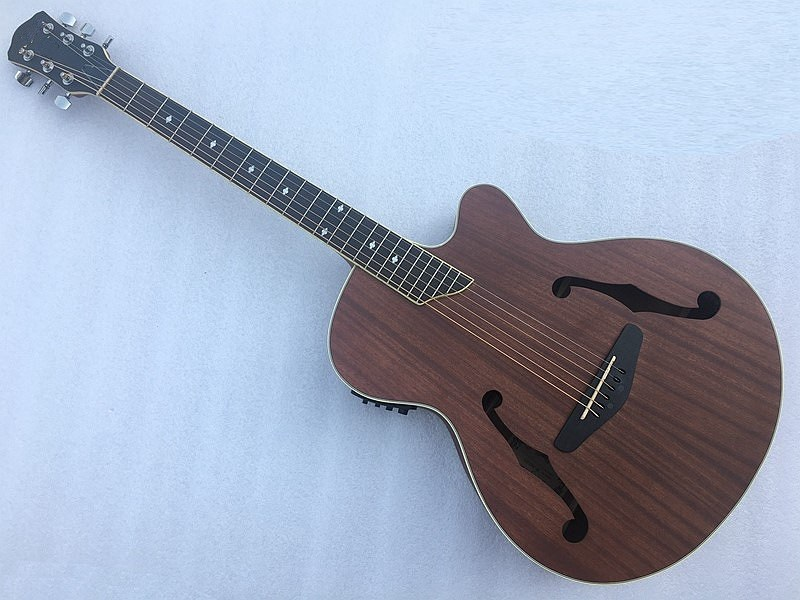 good quality JAZZ Acoustic electric guitar