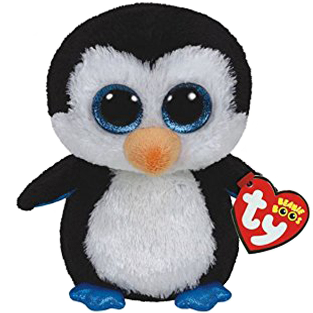 Pyoopeo Ty Beanie Boos 20 50cm Waddles The Penguin Plush Large Soft