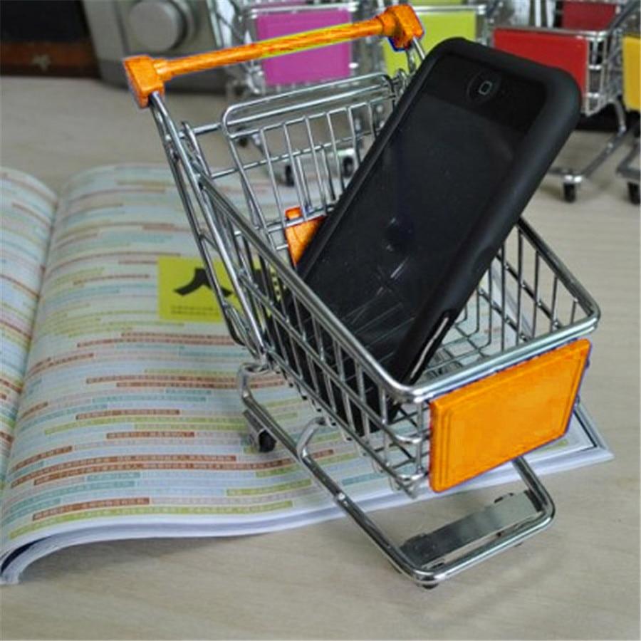 1Pcs-Mini-Supermarket-Shopping-Trolley-Phone-Holder-Office-Desk-Storage-Shopping-Cart-Toy-Handcart-Eco-Friendly-Basket-2