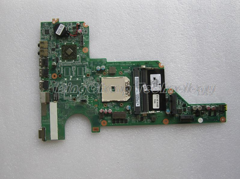 45 days Warranty  laptop Motherboard For hp G4 G6 G7 722390-001 for AMD cpu with integrated graphics card 100% tested Fully 45 days warranty for hp cq62 g62 610161 001 laptop motherboard for amd cpu with ati hd5430 ddr3 integrated graphics card