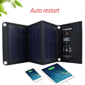 3 In 1 16W 5V Foldable Monocrystalline Solar Panel Cells For Mobile Phone Mp3 Player Charging Solar Baterry Dual USB