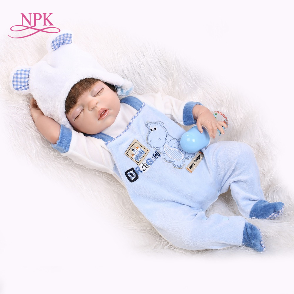 handmade reborn baby 57cm 23inch full vinyl doll sleeping baby doll baby paying toys for boyshandmade reborn baby 57cm 23inch full vinyl doll sleeping baby doll baby paying toys for boys