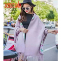 Luxury Brand Women Mink Cashmere Scarf Bandana Pashmina Designer Sleeve Blanket Wrap Warm Winter Stole Shawl Scarves For Women