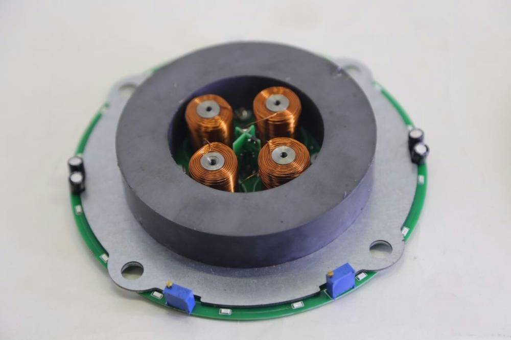 The magnetic levitation scheme maglev bearing 450 grams of custom bare metal heart design of ga fuzzy controller for magnetic levitation using fpga
