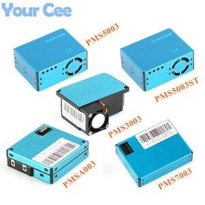 Pms5003 pms7003 pms5003st pms3003 pmsa003 módulo de sensor pm2.5 partículas ar poeira digital sensor laser eletrônico diy