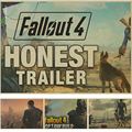 Game vintage poster Fallout 3 4  kraft Game poster Home Furnishing decoration retro Kraft Poster Drawing core Wall stickers
