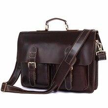 JMD Одежда высшего качества блестящие из коровьей кожи Для мужчин сумка Мода сумка для ноутбука сумка для Для мужчин и Для женщин 7105Q-1