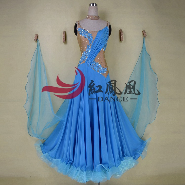 High-end International Standard Ballroom Smooth Dance Competition Dress, /Ballroom Standard Tango Waltz Dance Dress