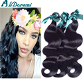 peruvian virgin hair body wave unprocessed human hair natural black 1B peruvian body wave cheap human hair on sale