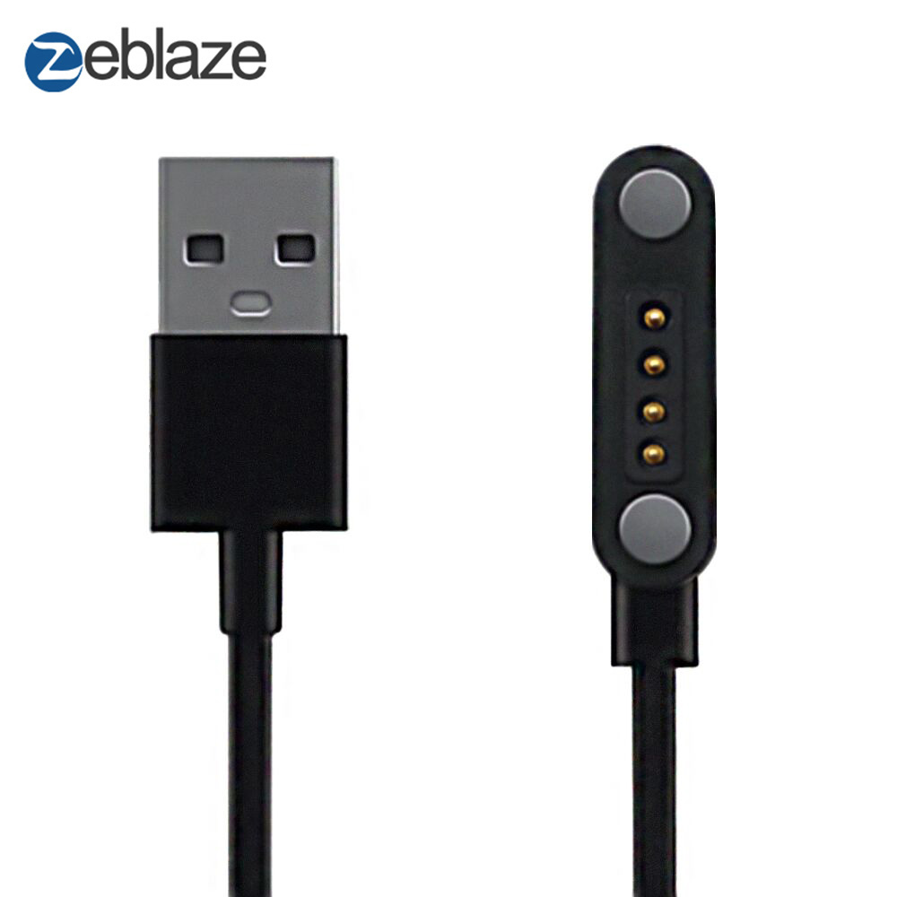 Zeblaze THOR S Smart Watch 65cm Length Charging Cable with Port Magnetic USB Power Charger Cable