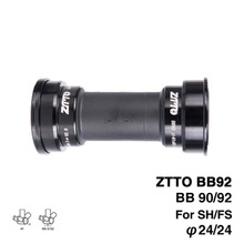 ZTTO BB92 BB90 BB86 MTB Road Mountain bike bicycle Press Fit Bottom Brackets for Parts Prowheel 24mm Crankset chainset цена