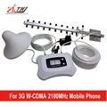 Specailly для России 3 Г сети 2100 мГц умный мобильный усилитель сигнала с Яги + Потолочные антенны комплект сотовый телефон сигнал повторителя
