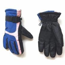 GLV824 winter font b gloves b font Outdoor skiing waterproof windproof antiskid warm female bike riding