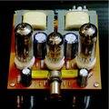 Estéreo de ALTA FIDELIDADE do tubo 6N2 + 6P1 Classe single-ended Um amplificador valvulado bordo kit diy frete grátis