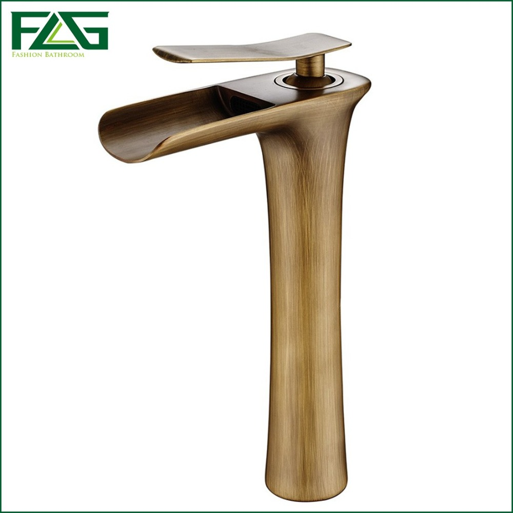 bathroom faucet single by hole copper htm handle antique faucets tall pd inch