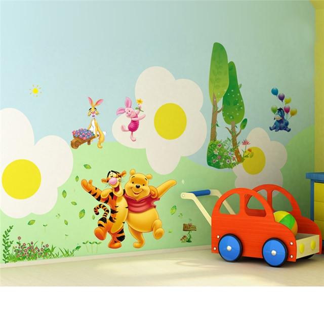 Winnie Pooh Bär Tigger Wand Aufkleber Für Kinder Zimmer Dekoration ...