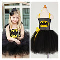 QYFLYXUESuperhero Children Girl Tutu Dress Photo Props Kids Fancy Tutu Dress Little Girl Cosplay Halloween Costume Birthday Gift