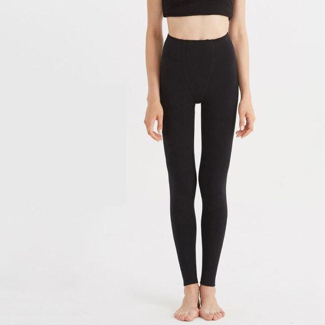 6bdd492ecf12 CILER Fashion Women Thermal Underwears High Waist Sexy Slim Winter Warm Long  Johns Ladies Autumn Leggings Underpant