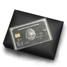 Centurion American-Express-Card/chip-Card Magnetic Stripe-Card/the