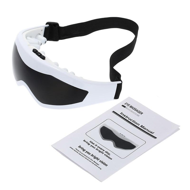 Электрический эпилятор, Уход за глазами, массажная маска для зрения, акупунктура, массажер для глаз, устройство, 3 режима, расслабляющее здоровье, красота, релаксация