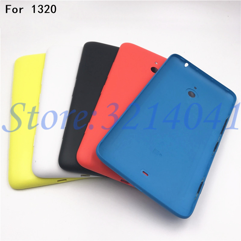 New Battery Door Back Cover Housing For <font><b>Nokia</b></font> Lumia <font><b>1320</b></font> Battery Cover Repair <font><b>parts</b></font> Free Delivery image