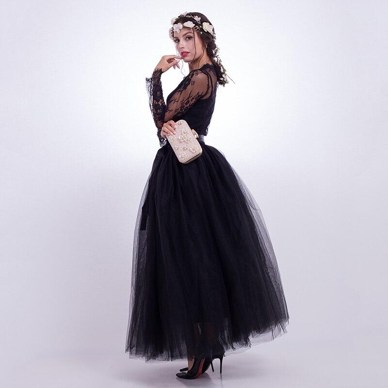 7 στρώματα Maxi Long Φούστες Γυναικεία - Γυναικείος ρουχισμός - Φωτογραφία 4
