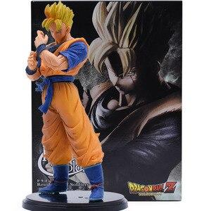 Image 5 - Figuras de acción de Dragon Ball Z, 3 sets, Goku, juguete de modelo de colección en PVC, Super Saiyan, Son Gohan, Zamasu, figura de Broly, juguetes para niños