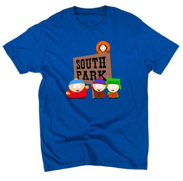 SOUTH PARK TShirt Summer Fashion Cotton 4