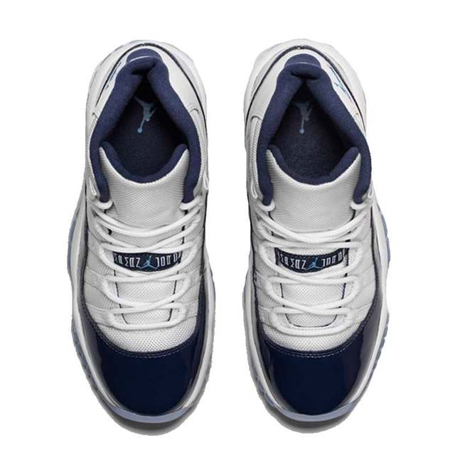low priced 533b9 1f9c9 US $222.5 |Official New Arrival Original Nike Air Jordan 11 Retro Win Like  96 Men's Basketball Shoes Sport Outdoor Sneakers 378037 123-in Basketball  ...