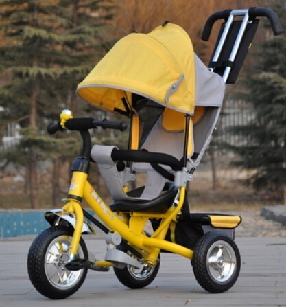 Brand New style Baby child kids tricycle trolley baby stroller carriage bike bicycle 6 monthes-6 years old ride on car toys