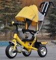 Novo estilo bebê criança triciclo carrinho de bebê bicicleta carrinho de bicicleta 6 monthes-6 anos de passeio em brinquedos